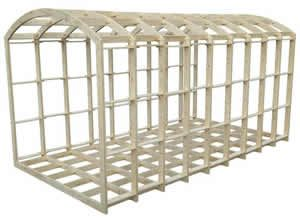 Shepherds Hut Frame Kit 5400mm x 2200mm