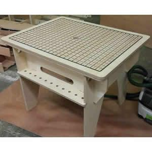 Vac Bench Pro Professional Vacuum Hold Down Table (Birch Plywood)